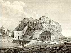 Вид ревельской крепости